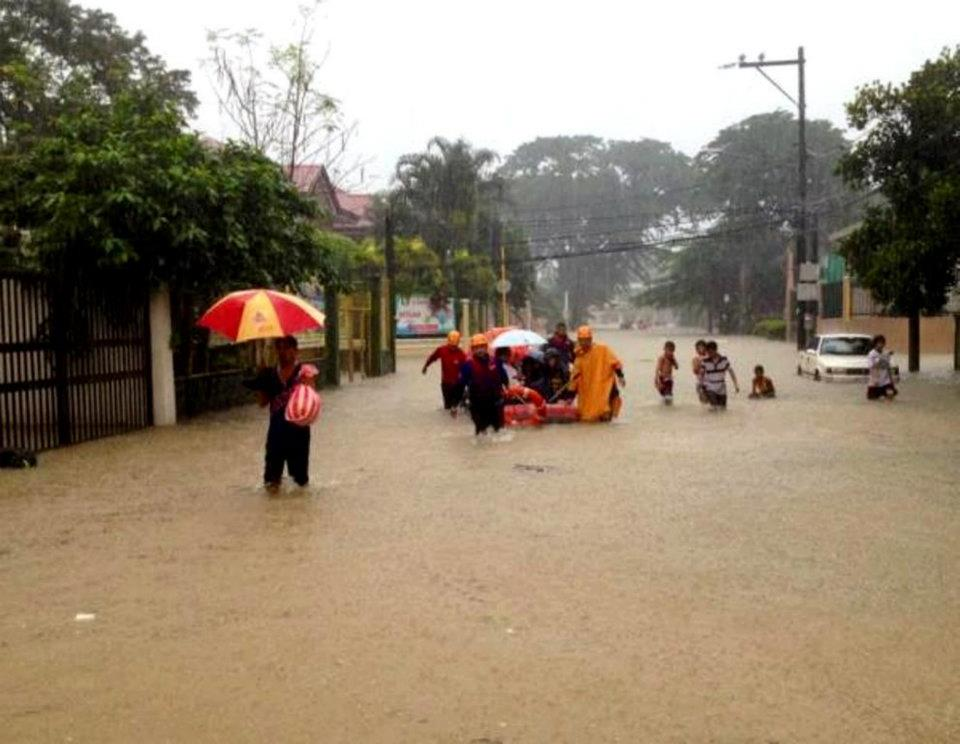 Provident Village flood