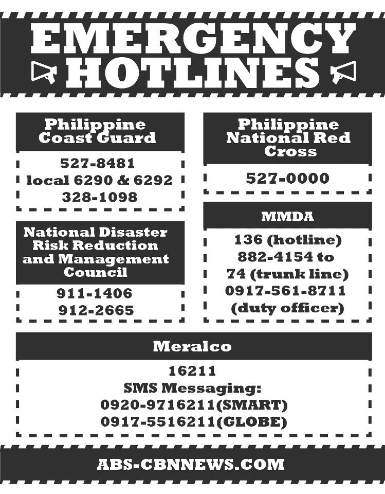emergency-hotlines-flood-metro-manila-area